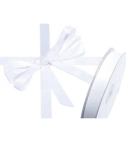 Ruban double satin 15 mm x 50 mt pour cadeaux de bricolage ou coffrets cadeaux