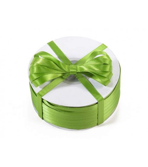 Double Satin Ribbon 6 mm x 100 mt for DIY Favors or Gift Packs