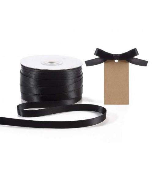 Doppeltes Satinband 10 mm x 100 m für DIY-Gefälligkeiten oder Geschenkverpackungen