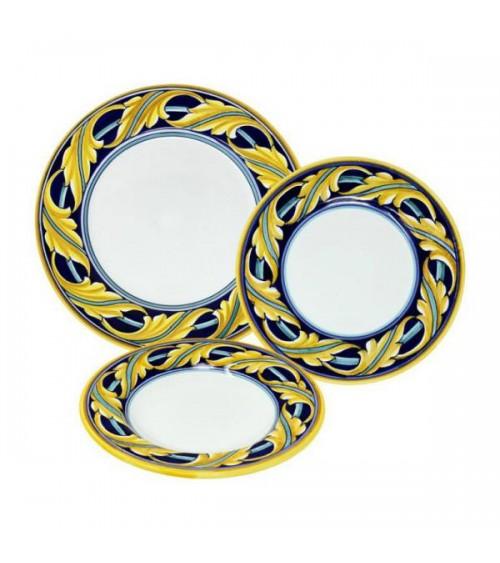 Montefalco Dinner Set For 4 People - Ceramica Deruta