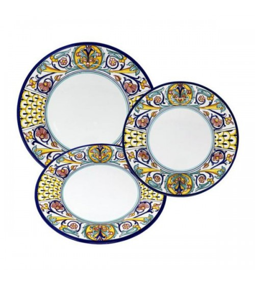 Jacoby Dishes Service For 4 People - Ceramica Deruta