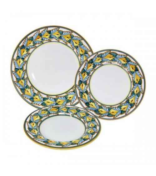 Service de plats de cuisine pour 4 personnes - Ceramica Deruta