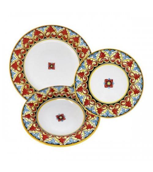 Service de vaisselle Sofia pour 4 personnes - Ceramica Deruta