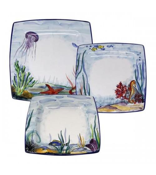 Service de vaisselle Pelagus pour 4 personnes - Ceramica Deruta