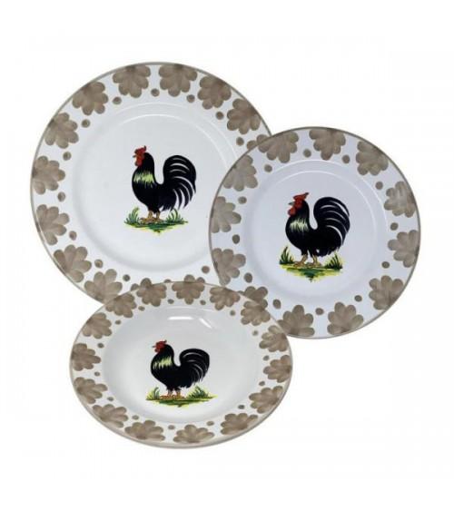 Provence Dishes Service For 4 People - Ceramica Deruta