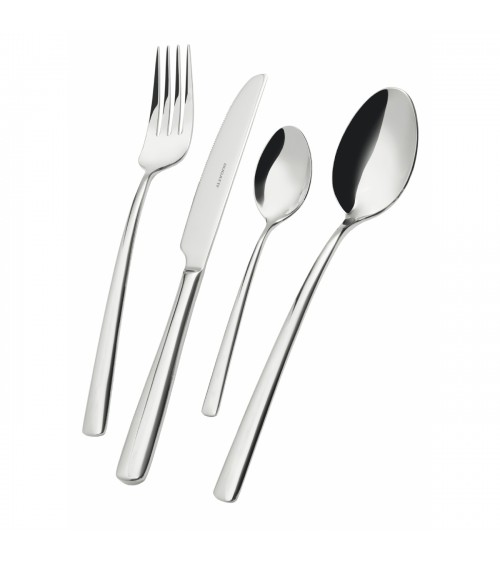 Metropolis stainless steel cutlery set 24 pieces with box - Casa Bugatti
