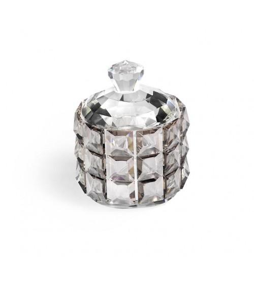 Bomboniera Argenti Fantin - Scatola in Cristallo Diamante Fumè