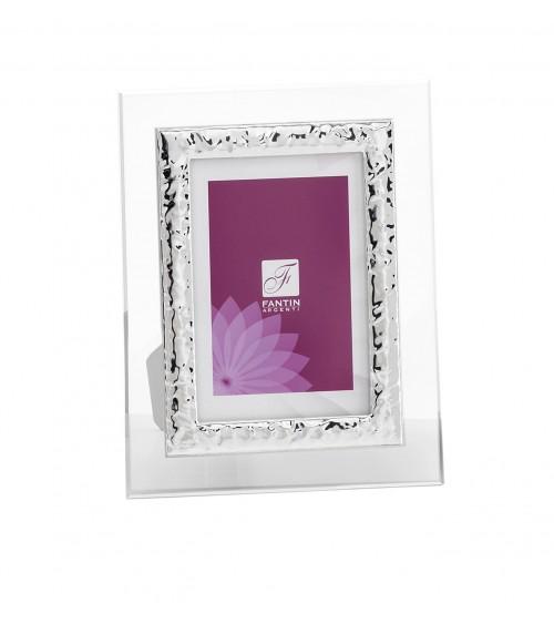 Favor Argenti Fantin - Photo Frame in White Retro Cartoccio Crystal