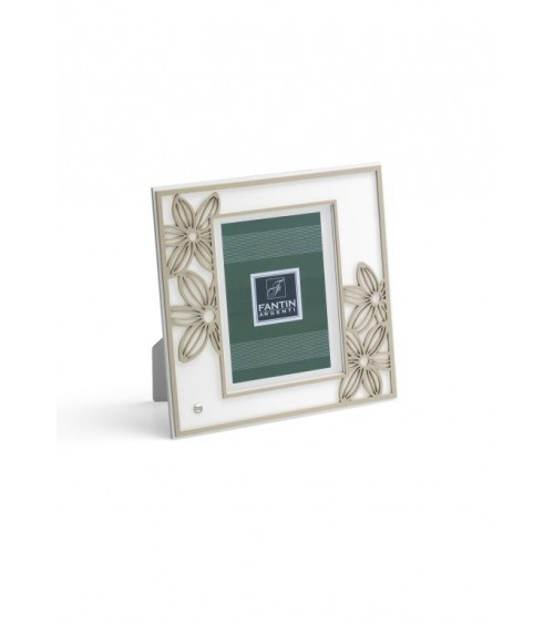 Favor Argenti Fantin - Photo Frame with Daisies and White Back