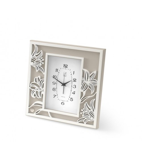 Argenti Fantin - Alarm clock with lily and dove gray back