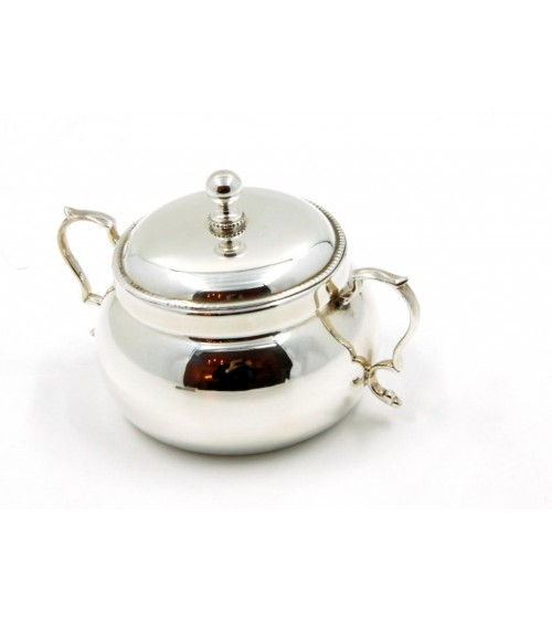 Sheffield Silver Sugar Bowl - Royal Family - 1