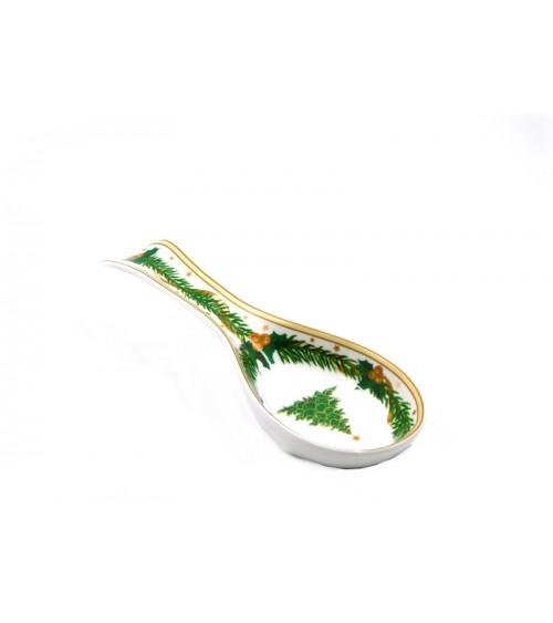 """Poggiamestolo in Ceramica """"Gold Christmas"""" - Royal Family"""