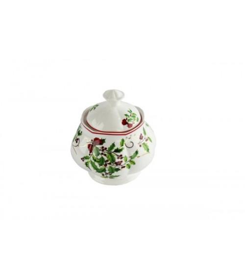 "Zuccheriera in Ceramica ""Christmas"" - Royal Family"