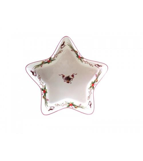 """Jingle Bells"" Ceramic Star Dish - Royal Family"
