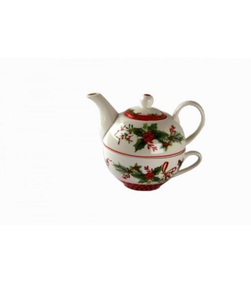"Teiera in Ceramica ""Jingle Bells"" - Royal Family"