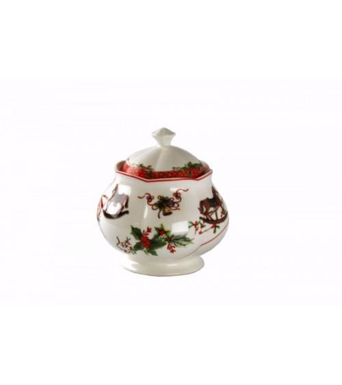 "Zuccheriera in Ceramica ""Jingle Bells"" - Royal Family"