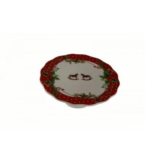 """Alzatina in Ceramica """"Jingle Bells"""" - Royal Family"""
