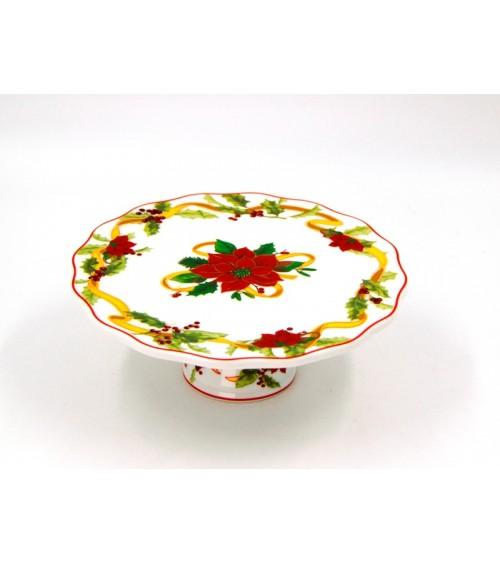 "Alzatina in Ceramica ""Stella di Natale"" - Royal Family"