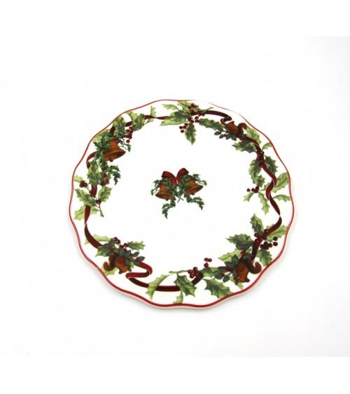 "Sottopentola in Ceramica ""Christmas Carol"" - Royal Family"