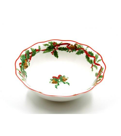 """Christmas Carol"" Ceramic Salad Bowl - Royal Family"
