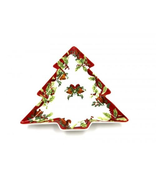 """Christmas Carol"" Ceramic Tree Baking Dish - Royal Family"