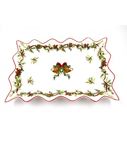 "Ceramic Christmas Centerpiece ""Christmas Carol"" - Royal Family"