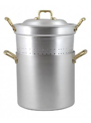 Pan with Professional Aluminum Colander