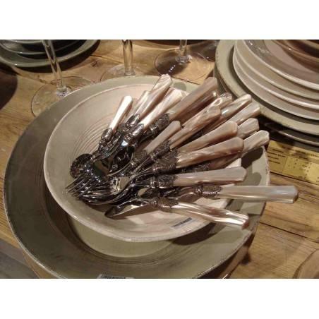 Rivadossi Colored Cutlery Vittoria set 2pcs salad - 7