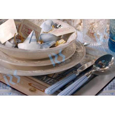 Naif Papillon - Set 4 Pieces Colored Cutlery - Rivadossi Sandro - 1