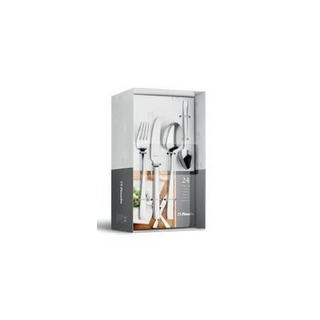 Stainless Steel Flatware Amefa - Baguette September 24PZ Cutlery Box - 2