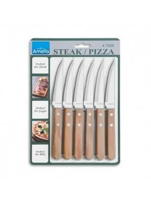 September Amefa Pizza - Pizza Steak Knife 6PZ - 3