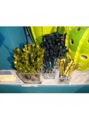 Bamboo Set 6pcs Table Spoon Dark Green - 1