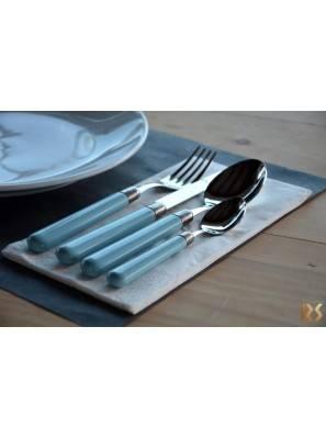 Osteria cucchiaio forchetta coltello cucchiaino caffe' azzurro
