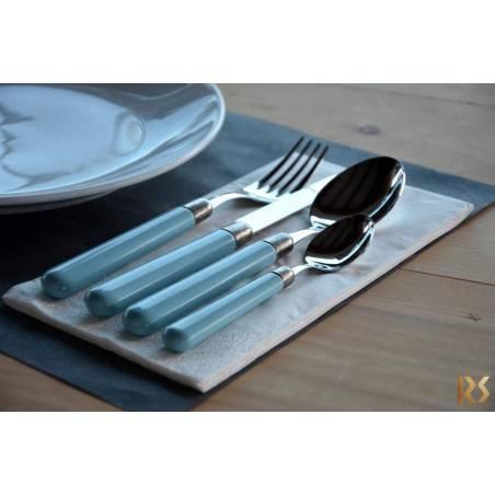 Osteria - Set 24pcs Rivadossi Cutlery Colored Handle - 9
