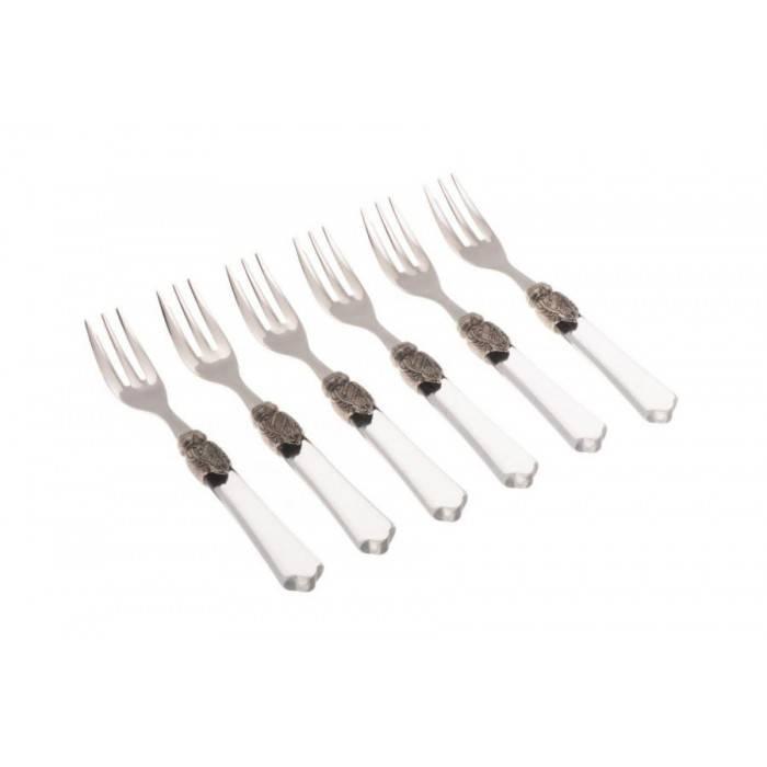Vittoria cake fork transparent