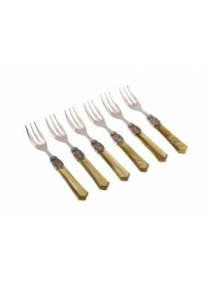 Vittoria cake fork green