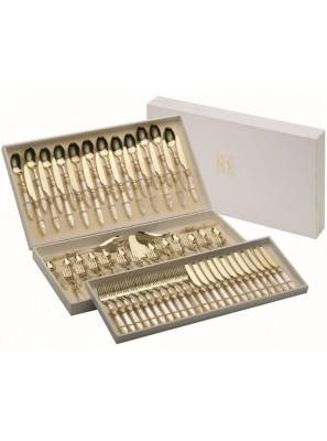 Laura Old Set 75 Pieces Cutlery Rivadossi Sandro - 4