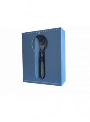 Rivadossi Colored Cutlery Set 24pcs Blue - Syrah - 7