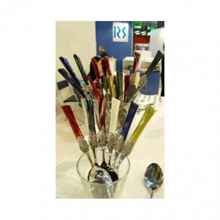 Rivadossi Colored Cutlery Set 24pcs Blue - Syrah - 8