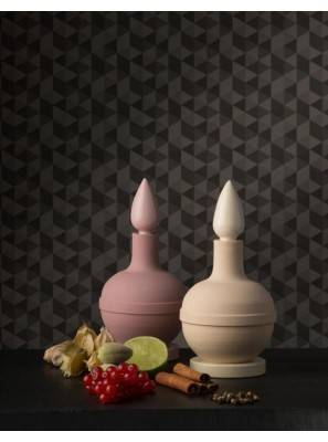 Fragrance Diffuser in Ceramic Belforte - Collection I Ming Puji Pink - 1