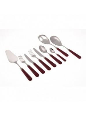 Mistral Set 75pcs Rivadossi Cutlery Bordeaux - 1