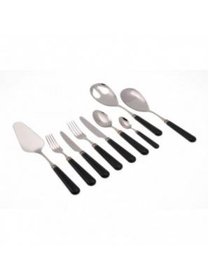 Rivadossi Cutlery set 75pc black Mistral.