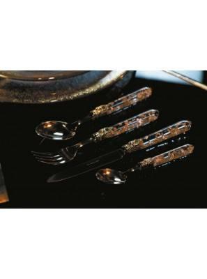Luna Gold - Set 24pcs Rivadossi Cutlery - Shop Online - 1