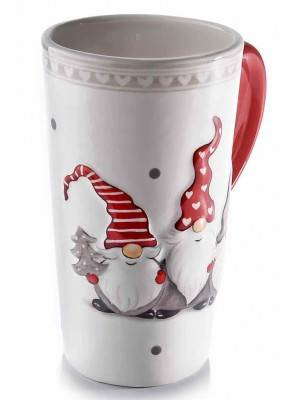 Santa Claus Ceramic Breakfast Cup