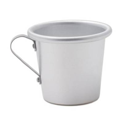 Conical Aluminum Cup with Handle - Made in Italy - Rivadossi Sandro