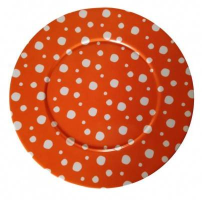 Rivadossi Naif Snow Orange Tray / Plate
