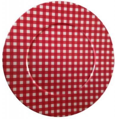 Naif Pic Nic Red Tischset 6-teilig / Tablett