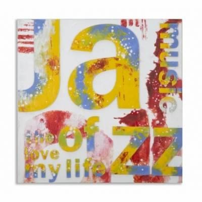 Dipinto Su Tela Music Cm 100X3