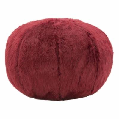 PUFF PLUSH BORDEAUX CM