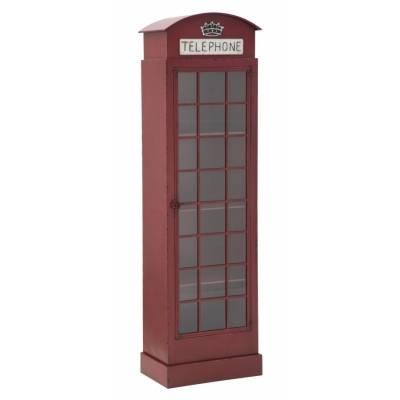 Vitrine / Cabine téléphonique London New Cm 52X30X180